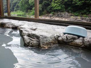 露天風呂の写真・画像素材[639864]