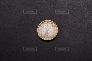 1ユーロ通貨の写真・画像素材[1595395]