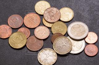 ユーロ貨幣の写真・画像素材[1595396]
