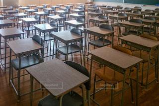 誰もいない教室の写真・画像素材[1814302]