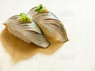 コハダにぎり寿司の写真・画像素材[2021392]