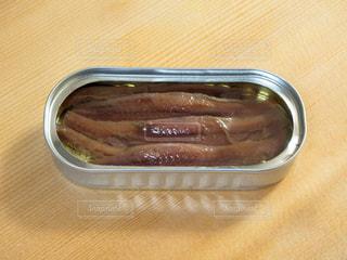オイルサーディンの缶詰めの写真・画像素材[2213897]