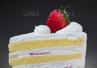 苺のショートケーキの写真・画像素材[3294808]