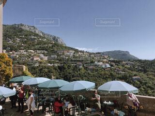 景色とレストランの写真・画像素材[2495514]