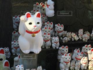 招き猫の写真・画像素材[390727]
