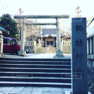 神社の写真・画像素材[393509]
