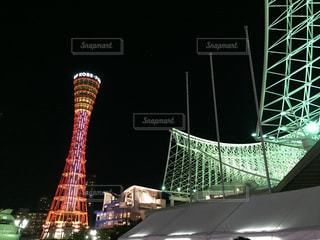 夜景の写真・画像素材[392622]