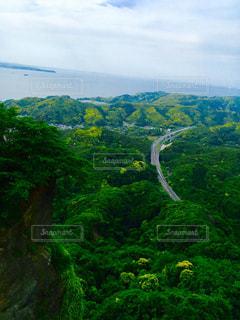 山、海、空の写真・画像素材[1306458]