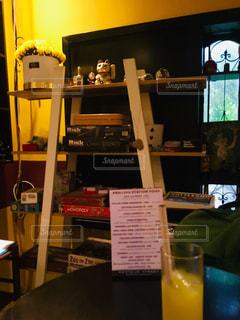 とあるカフェ&バーにての写真・画像素材[2461062]