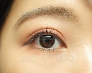 瞳のクローズアップの写真・画像素材[2699516]