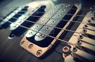 ギターのクローズアップの写真・画像素材[2719393]