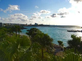 沖縄の青い海の写真・画像素材[394374]