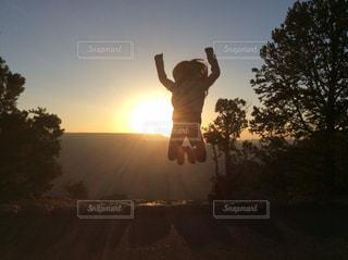 ジャンプの写真・画像素材[393811]