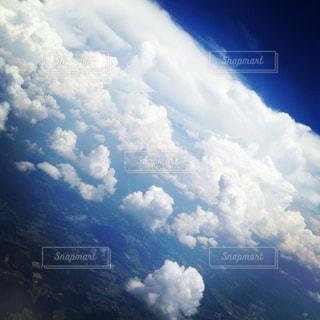 飛行機からの写真・画像素材[1406655]