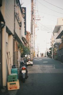 近くに忙しい街の通りの - No.1007747