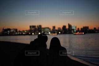 夕焼けの写真・画像素材[1046252]