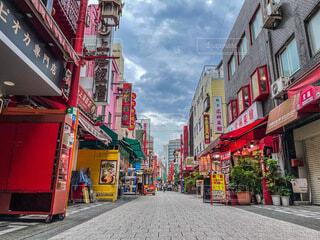 神戸中華街の写真・画像素材[4662073]