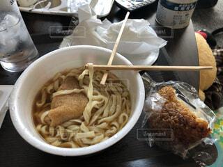 一人暮らしの飯の写真・画像素材[4442519]