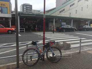 サイクリングの写真・画像素材[397358]