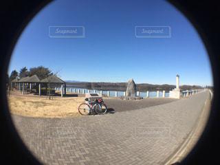 サイクリングの写真・画像素材[397366]