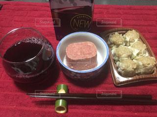 夕食&晩酌の写真・画像素材[400446]