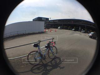 サイクリングの写真・画像素材[411212]