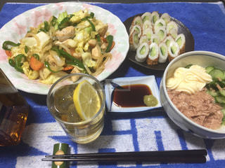 夕食の写真・画像素材[416956]