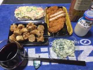 夕食&晩酌の写真・画像素材[430858]