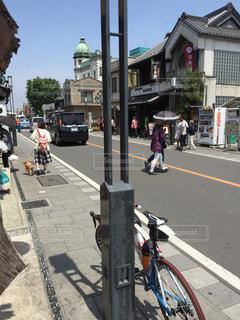 サイクリングの写真・画像素材[476946]