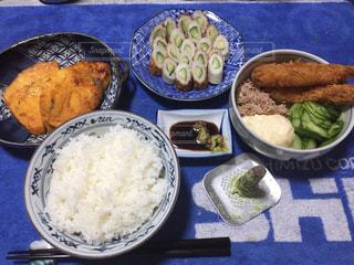 夕食の写真・画像素材[586218]