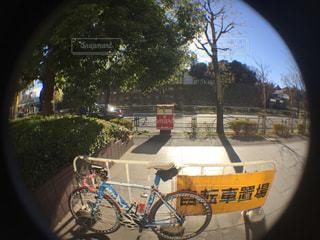 自転車のビューの写真・画像素材[934543]