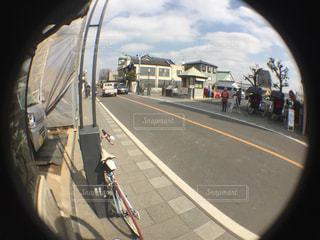 街の通りのビューの写真・画像素材[1026338]