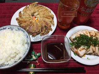 夕食&晩酌の写真・画像素材[1094582]