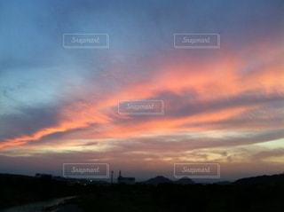 夕日の写真・画像素材[409258]