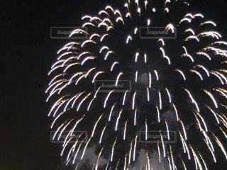 幕張の花火大会の写真・画像素材[1354536]