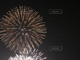 幕張の花火大会の写真・画像素材[1354555]