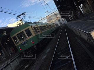電車の写真・画像素材[401098]