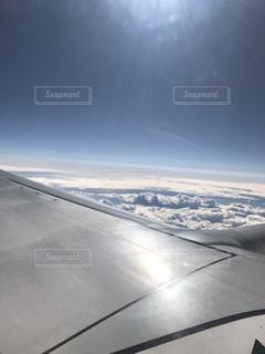 飛行機からのいい景色の写真・画像素材[849094]