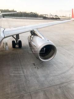飛行機のエンジンの写真・画像素材[1139632]
