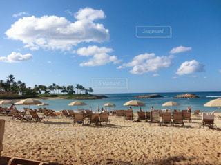 オアフ島のビーチの写真・画像素材[760119]