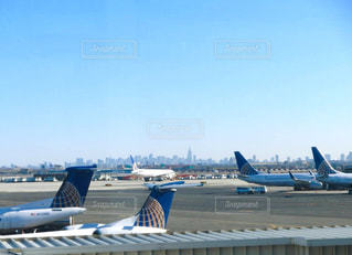 遠くにマンハッタンが!の写真・画像素材[760560]