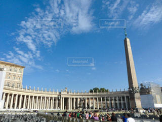 バチカンの青空と雲 - No.763090