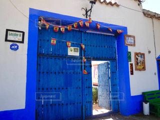 バルセロナの青の写真・画像素材[766968]