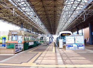 広島の路面電車の写真・画像素材[879502]