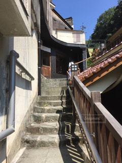 坂の上の住宅の写真・画像素材[1060069]