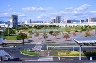 広島市街地一望の写真・画像素材[3738042]