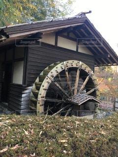 水車小屋の写真・画像素材[911646]