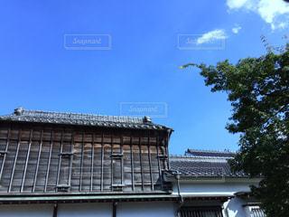 建物の屋根の写真・画像素材[727895]