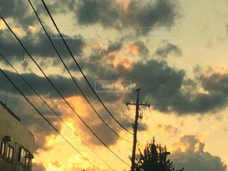 空には雲のグループの写真・画像素材[753969]