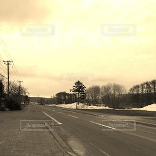 雪どけの写真・画像素材[411968]